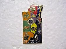 Lions Club Pin Belize Central America  District 59  Fish Lobster Sail Boat