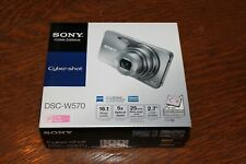 Sony Cyber-shot DSC-W570 16.1MP Digital Camera - Pink-Brand New-Never Opened NEW