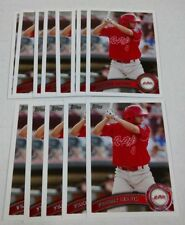 13 FREDDY GALVIS 2011 Topps Pro Debut card lot PHILADELPHIA PHILLIES Baseball