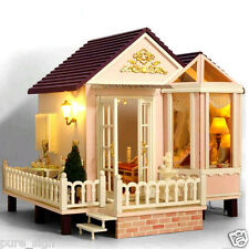My Honeymoon Beach Villa Handcraft Miniature Project Wooden Dolls House