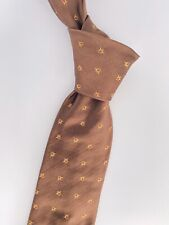 HOLIDAY & BROWN LONDON Specially Re-edited for PRADA BROWN Silk Mens Tie