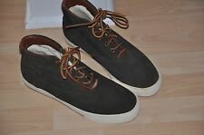 """New Polo Ralph Lauren Mens """"Zale"""" Suede High-Top  shoes  size 9 D fall school"""