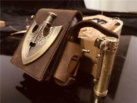 JoJo's Giorno Giovanna Insert Arrow Wallet Cigar Billfold Case Hand Bag Leather