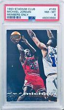 1993 Stadium Club Members Only Michael Jordan #169 PSA 8 Low Pop!🔥📈