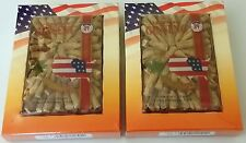 2 Boxes Hsu's American Ginseng Large Prong 121-4 4 Oz Fancy Pack Total 8 Oz