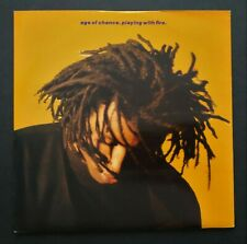 """Age Of Chance: Playing With Fire - 1990 Virgin Records 7"""" Vinyl Single"""