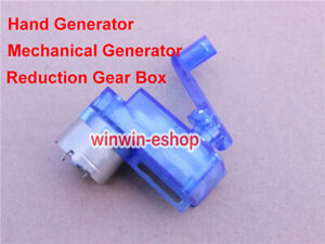Hand Crank Generator DIY Mechanical Generator Children Teach Test Model DIY Kit