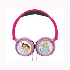 DISNEY PRINCESS STEREO HEADPHONES KIDS MUSIC HEADPHONES OFFICIAL NEW