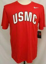 New United States Marine Corps USMC Nike Dri-Fit Legend SS Tee Shirt Red Men's S