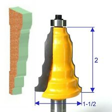 "1 PC 1/2"" SH Architectural Molding Base-A Router Bit S"