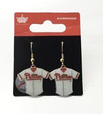 Philadelphia Phillies Dangle Jersey Earrings Baseball MLB Licensed Jewelry