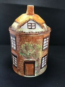 """Vintage Price Kensington """"Cookie Jar"""" Cottage Ware Biscuit Barrel Large"""