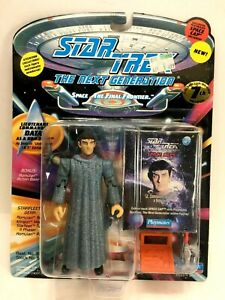 "NEW *Sealed* STAR TREK TNG 5"" Figure Data as Romulan"