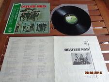 "THE BEATLES ""N°5"" - LP JAPAN + OBI + INSERTS -  AR 8028"