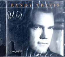 RANDY TRAVIS This Is Me CD NEW SEALED