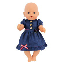 Doll Dress Fit For 43cm Baby Doll  Doll Reborn Babies Clothes 17inch Accessories