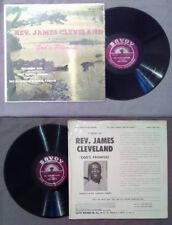 LP 33 Giri Gospel REV.JAMES CLEVELAND (A Sermon)God's Promise Live no cd mc vhs