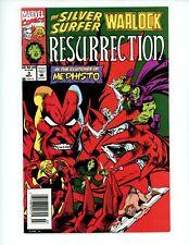Silver Surfer/Warlock/Mephisto: Resurrection #1, NM+, 1993  Newsstand Edition