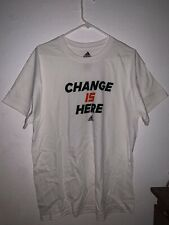 Adidas Patrick Mahomes Chiefs Super Bowl Shirt Large White Kansas City Mvp New