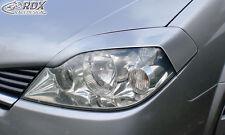 RDX Scheinwerferblenden NISSAN Primera P12 2002-2007 Böser Blick Blenden Spoiler