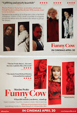 FUNNY COW MOVIE FILM POSTCARDS x 3 - MAXINE PEAKE JOHN BISHOP COMEDIAN COMEDY
