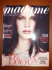 Magazine MADAME FIGARO supplément 2 mai 2014 cover Marine Vatch