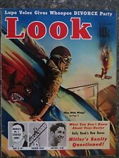 Look Magazine October 25, 1938 Men With Wings VINTAGE ADS  Hitler's Sanity