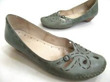 Pikolinos green buckle loafer slide Sz. 40 / 9.5-10