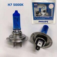 PHILIPS H7 5000K White DiamondVision 12V 55W 12972DVS2 Halogen Bulb 2/Pk #ewgtc