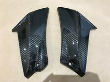 2011-2016 GSXR600 GSXR750 Side Mid Frame Bracket Trim Fairing Cowl Carbon Fiber
