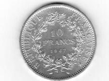 1 PIECE DE 10 FRANCS HERCULE  DE 1967   EN  ARGENT**