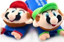 Selling! 2PCS Super Mario Bros Baby Car Seat Belt Cover Shoulder Cushion