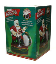 Mr Christmas Gold Label Santa Takes Request One Man Band Interactive Musical