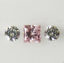 AUSTRALIAN 0.11ct!!  ARGYLE PINK DIAMOND 100% UNTREATED +CERTIFICATE INCLUDED