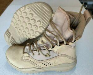 "Nike SFB Field 2 8"" GORE-TEX Desert Tan Military Boots Men's Size 6 Women's 7.5"