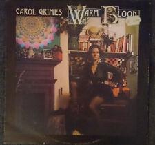 Carol Grimes Warm Blood, Caroline Records, Vinyl, LP, Near Mint