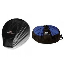 PARAGLIDING QUICK BAG ,PARAMOTOR QUICK BAG BLACK/BLUE AND PARAMOTOR DUST COVER
