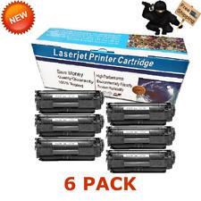 6PK Q2612A Toner Black For Canon 104 FX-9 FX-10 imageCLASS MF4350d MF4150 MF4270