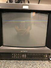 PVM-1354Q SONY TRINITRON COLOR VIDEO MONITOR