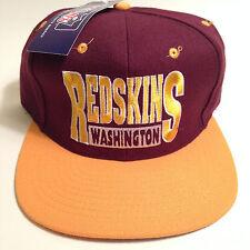 NWT Vintage Washington Redskins Snapback Hat By Drew Pearson RGIII Starter