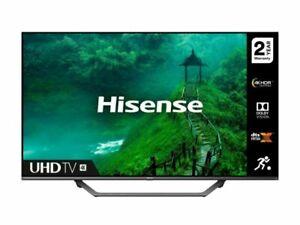 """Hisense AE7400F 50"""" 4K LED Smart TV - Silver"""