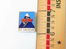 Mont St Sauveur Skiing Pin , Mont St Sauveur Ski Resort Lapel Pin ,   (#1268)