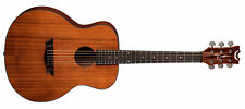 Dean 6 Stringing AXS Mini All Solid Acoustic Guitar Satin Natural AX MINI MAH