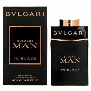 Bvlgari Man in Black Eau de Parfum 100ml EDP Spray Authentic New Boxed Sealed