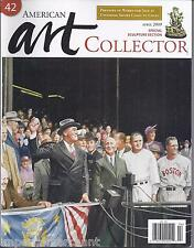 American Art Collector Magazine George Billis Sculpture Special Artist Focus