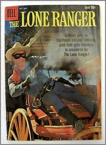 The Lone Ranger, Dell Western Comic #130 Oct - Nov 1959