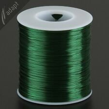 25 AWG Gauge Magnet Wire Green 1000' 155C Enameled Copper Coil Winding