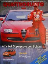 Quattroruote 541 2000 Alfa 147 prova con Schumi. La nuova Panda. BMW M3  [Q.62]