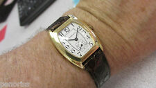 Classic Watch with Second Hand Estate Tiffany & Company 18k Gold