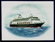Original Art Work ... ms STATENDAM...cruise ship...HAL